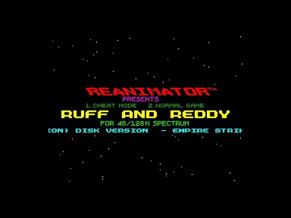 Ruff and Reddy in the Space Adventure Crack Intro - Reanimator