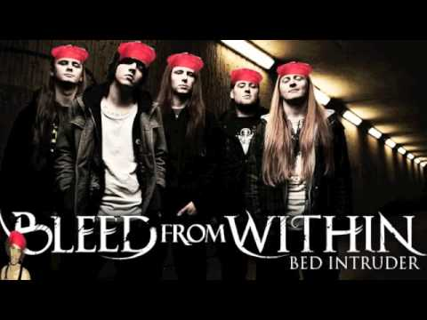 Bleed From Within - Bed Intruder (Antoine Dodson Metal Cover)