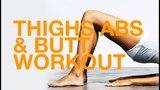 1 Workout a Day – Cardio HIIT Workout + Butt, Thighs, Abs | Интенсивная интервальная тренировка проблемные зоны (живот, ноги)
