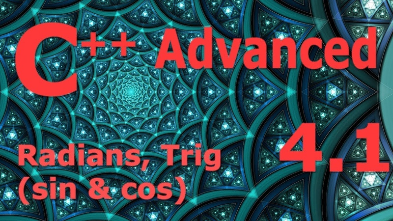 Advanced C Programming Tutorial 4 1 Radians Trig sin cos Unit Circle