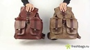 Мужские кожаные рюкзаки Kalina Man Backpack www FreshBags ru mp4