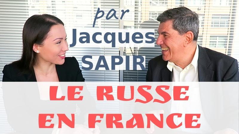 Jacques Sapir comment apprendre le russe en France