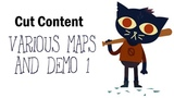 Cut Content Night in the Woods - Various Maps and Demo 1