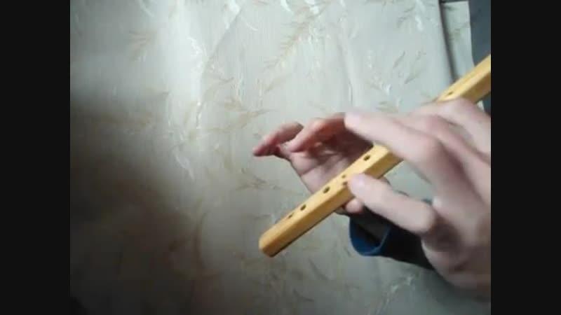 Звучание вистла с квадратным стволом