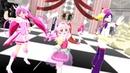 MMD Precure ピンクキュア&敵混合「ライアーダンス」