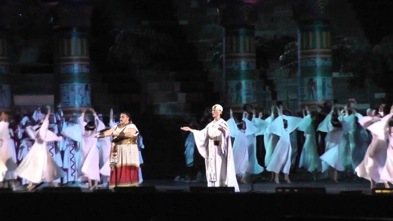 Marco Spotti Aida, atto primo Mortal, diletto ai numi