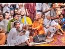Guruvastakam Kirtan by HH Lokanath Swami at Prabhupada Quarters Vrindavan