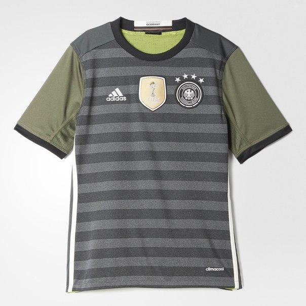 Игровая футболка сборной Германии UEFA EURO 2016 Away
