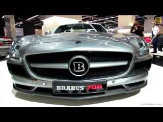 2013 Mercedes-Benz SLS-Class - Brabus 700 - Exterior Walkaround - 2013 Frankfurt