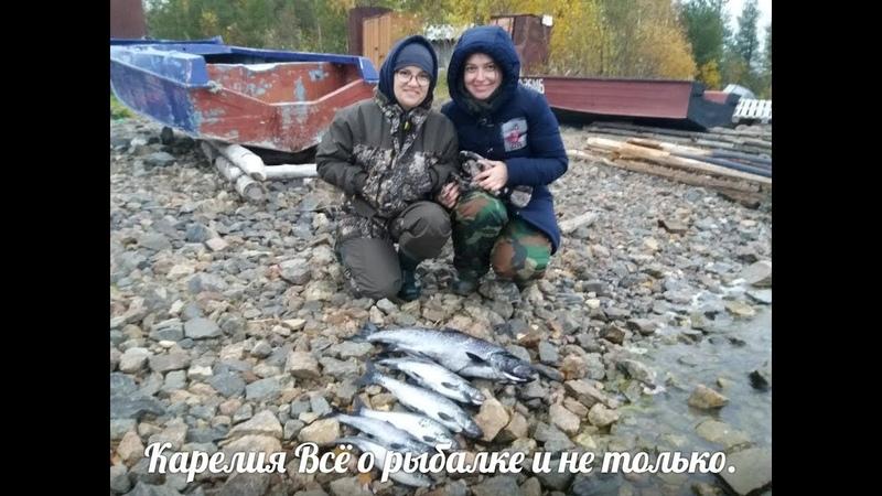 А ну ка девушки Рыбалка на Сегозере