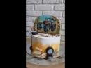 Двойной торт Трактор/Черепашки нидзя