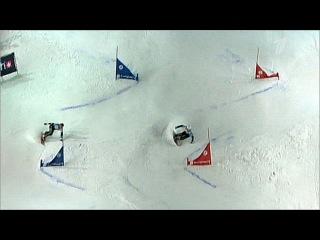 В Москве состоялся очередной этап Кубка мира по сноуборду в параллельном слаломе - Первый канал