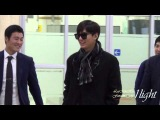 Lee Min Ho 20141104 Gimpo Airport 입국