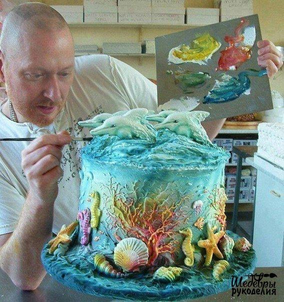 Потрясающий торт. (1 фото) - картинка