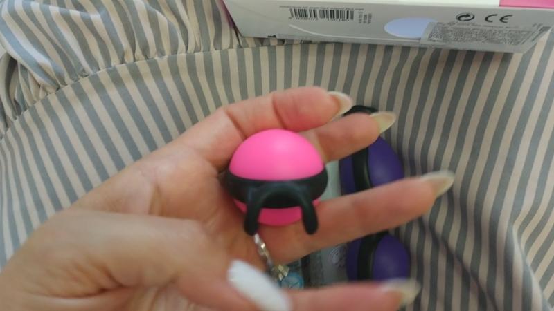 Набор вагинальные шарики. Joyballs secret Trend.
