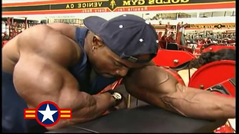 FLEX WHEELER ARM WORKOUT FOR 2000 MR.OLYMPIA