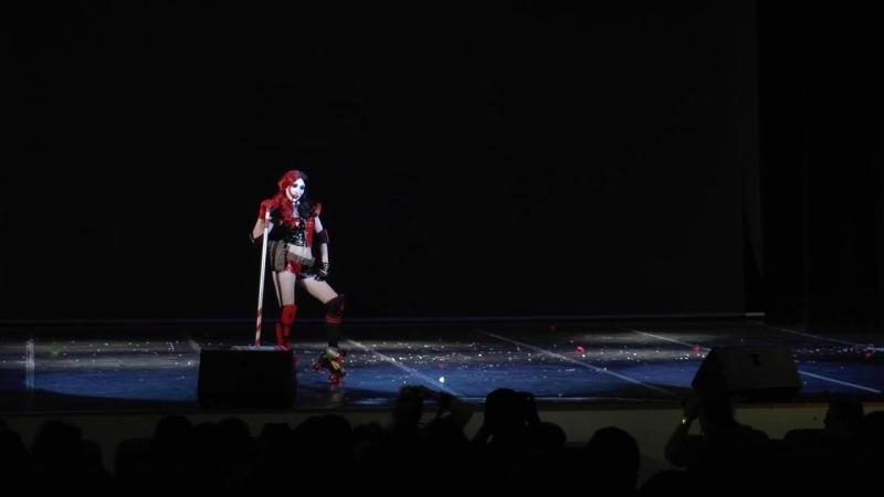 Anicon 2016 - MIAKirin - Одиночное Fandom-дефиле - Harley Quinn New 52