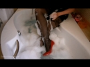 Wetlook bath - black pantyhose (Please cli_001.mp4