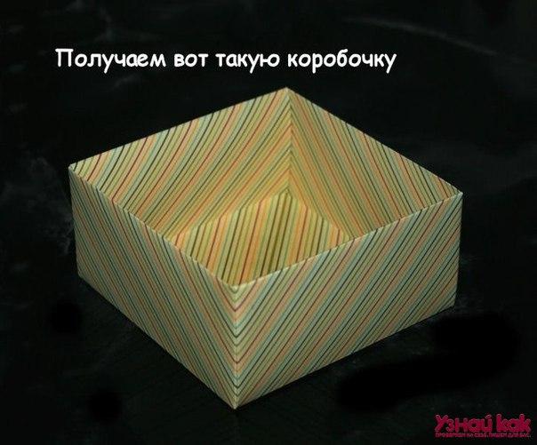 Как собрать коробочку для подарка? X6U9_rfGEyk
