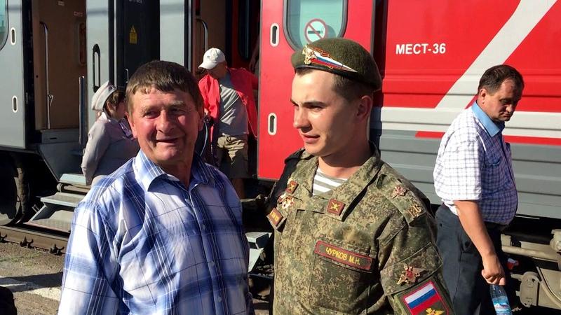 Миша вернулся с армии