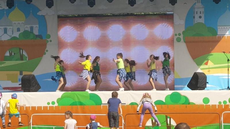 День города. Dancehall от сборной групп Dance BoOM
