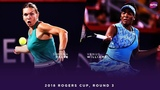 Simona Halep vs. Venus Williams 2018 Rogers Cup Round Three WTA Highlights