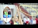 Averina Dina and Arina. Rhythmic gymnastics Russia 1998