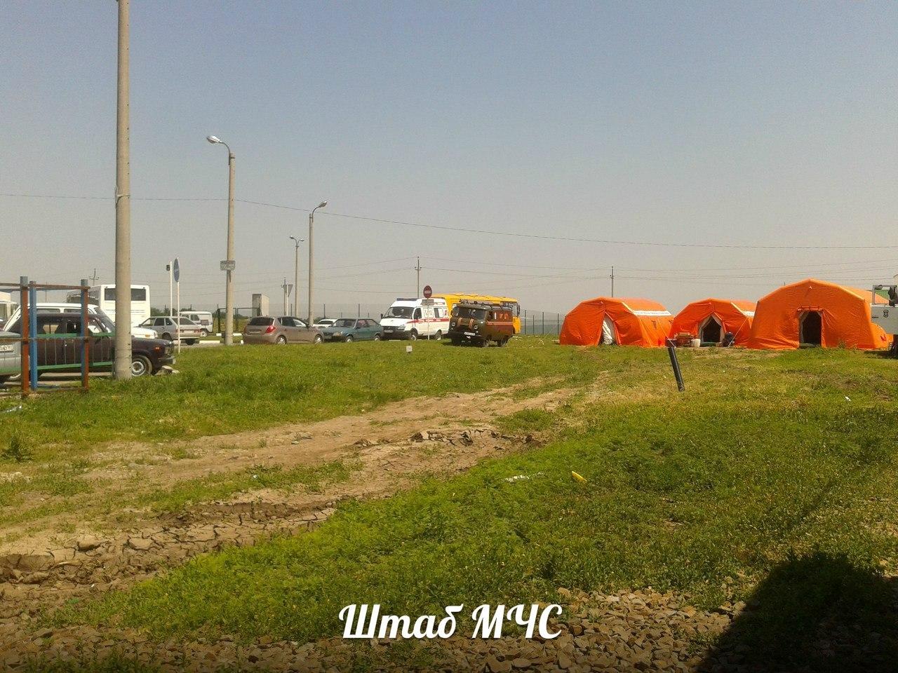 В Ростовской области круглосуточно принимают беженцев из Украины