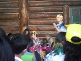 Fancam 130428 NU'EST camping with LOE in Thailand REN dance