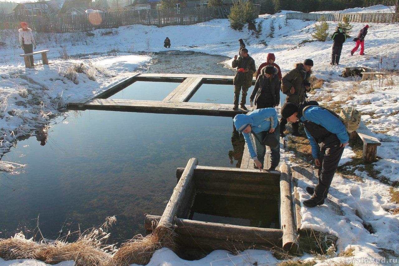 Источник мертвой воды в Покче
