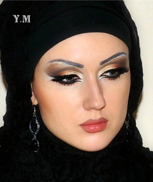 Арабский макияж как его сделать самой
