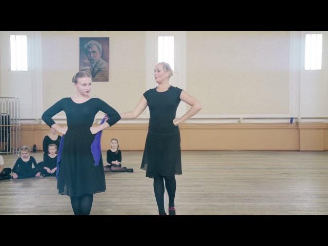 Урок хореографии с Буцкой Юлией