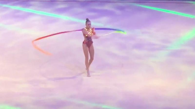 Арина Аверина (лента) — Шоу Алексея Немова Легенды спорта 2018 Россия, Москва