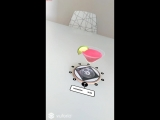 AR augmented reality #robotmoda