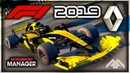 F1 2019 Renault Manager Career Motorsport Manager PC