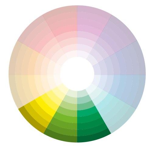 и генерации цветовых схем