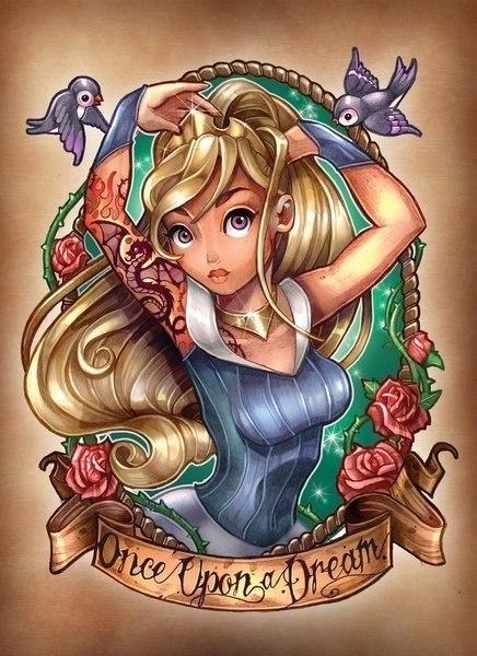 Принцессы Диснея - Страница 3 MKS4nxFvZ6w