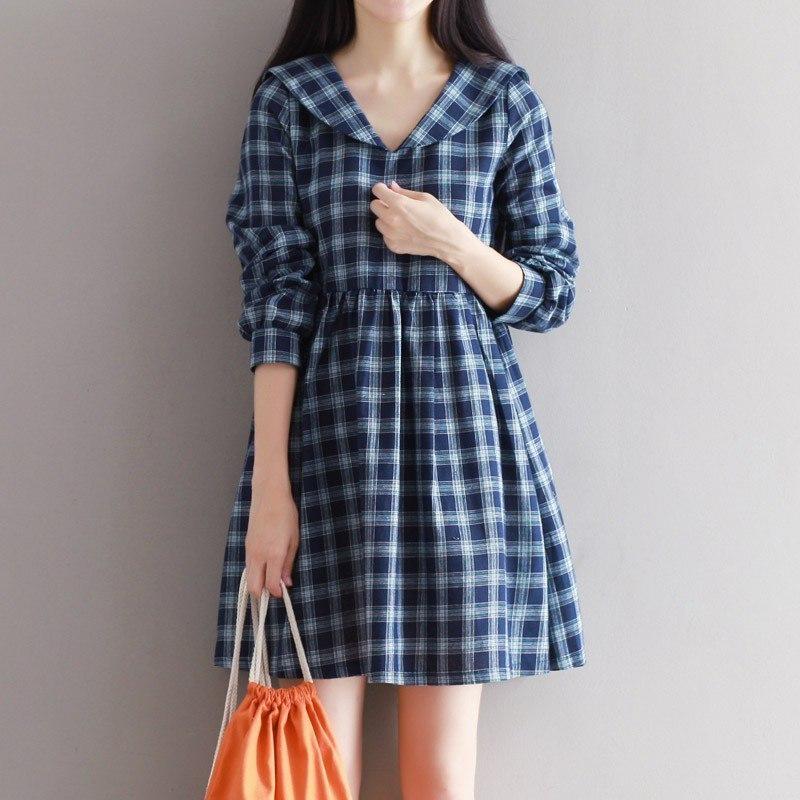 Платье для осенних прогулок -