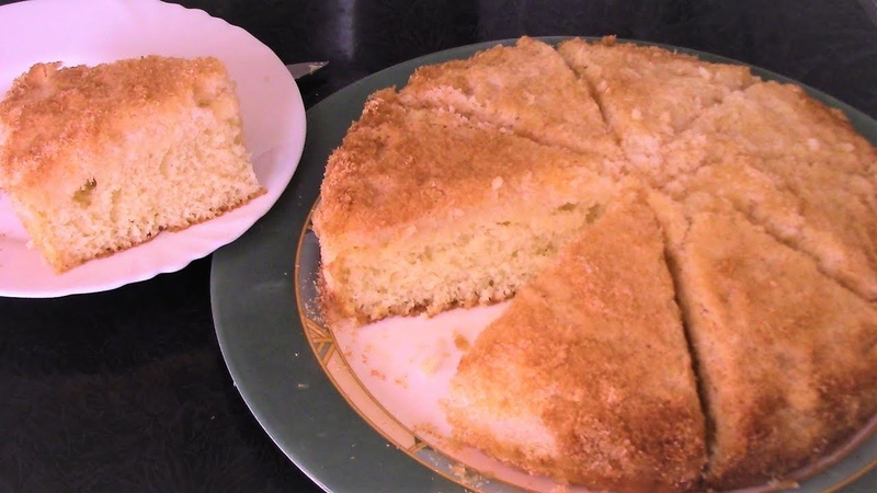 Кокосовый пирог из Датского королевства простой быстрый и очень вкусный Рецепт пирога на кефире