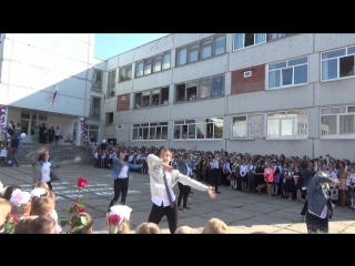 Флэш-моб 6 лицей Тольятти 1 сентября