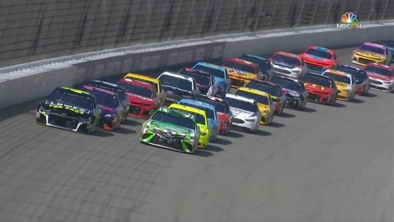 NASCAR Monster Energy Cup 2018. Этап 23 - Мичиган