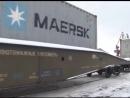 Первый контейнерный поезд с Владивостока в Тольятти