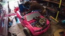 Building the Power Wheels Go Kart - Raw Time Lapse