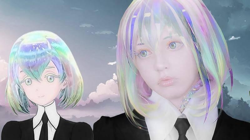 ☆ Diamond Cosplay Makeup Tutorial Houseki no Kuni 宝石の国 ダイヤモンド コスプレメイク ☆