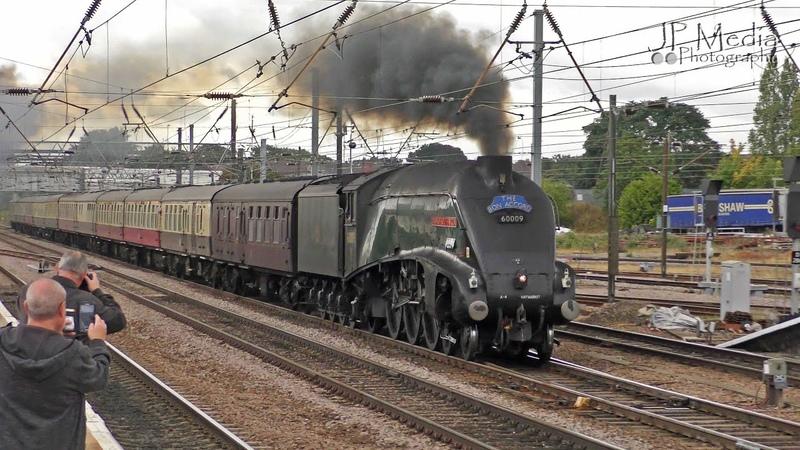 No.9 Dominates Doncaster | LNER 60009 'The Talisman' | 15.09.2018