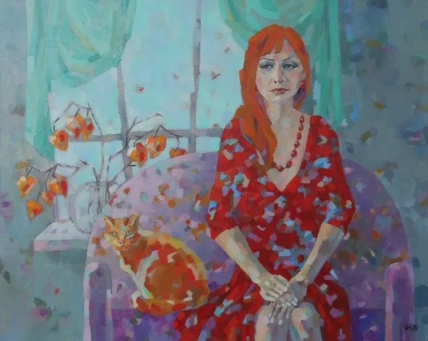 Известная художница Наталья Леонова пишет интересные и порой необычные картины Она вкладывает в них всю свою душу. Она хочет показать этот мир таким какой он есть на самом деле. Она закончила
