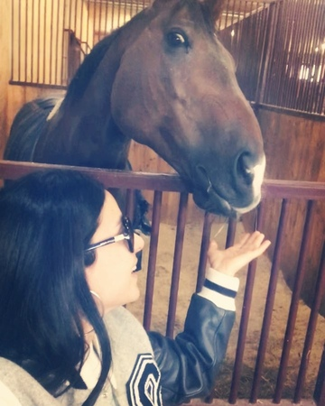 """ZLATA OGNEVICH on Instagram """"Щастя існує.....😍♥️ його багато тут, у @equides_club 🐎 Є щось магічне у цих створіннях... horses nature animal..."""