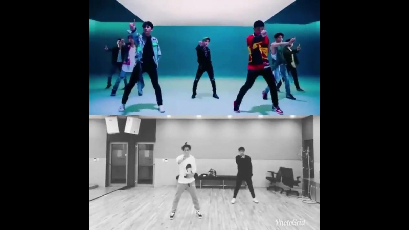 THE DANCE STEPS THAT HANBIN SPOILED IS IN THE MV TEASER