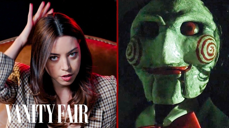 Aubrey Plaza Reviews Creepy Dolls from Movies | Vanity Fair