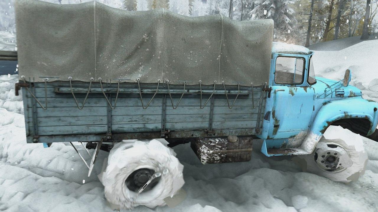 Карта Зимний сезон + Падающий снег SPIN TIRES 2zBobEzJEyw